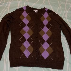 EUC Argyle Sweater